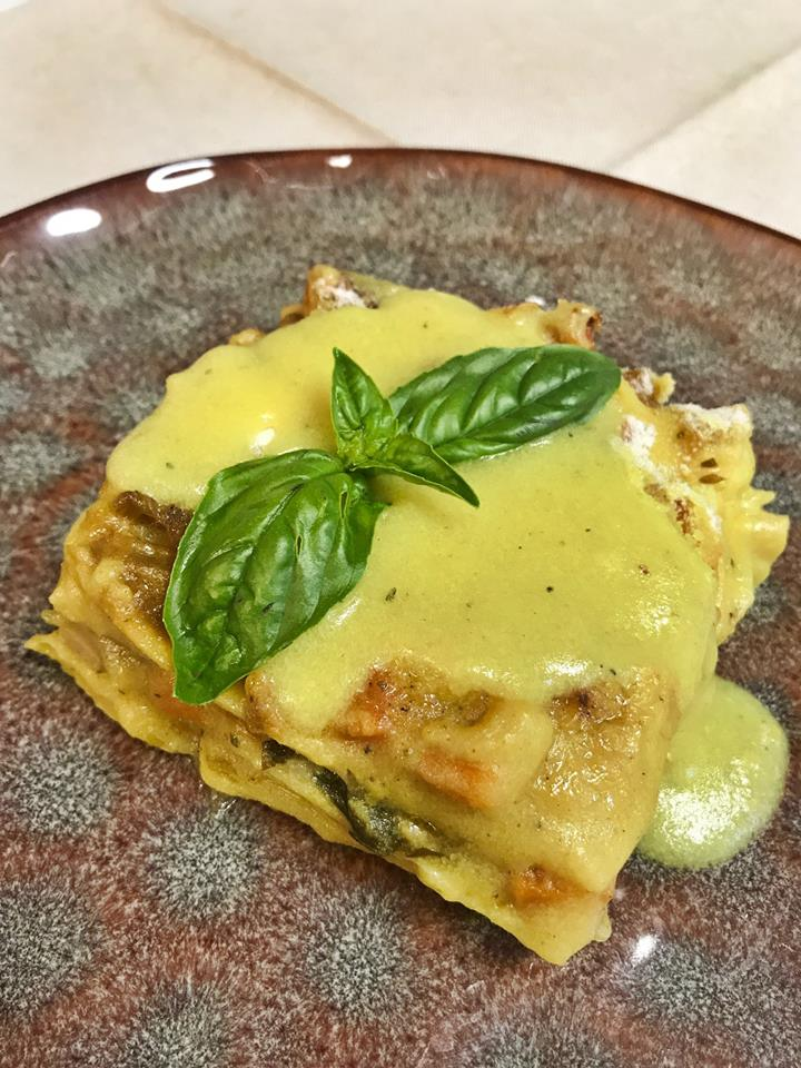 Lasagnette di mais