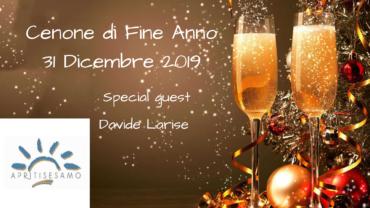 CENONE DI FINE ANNO – MARTEDI' 31 DICEMBRE 2019